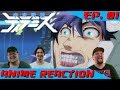 WHAT. THE. F- (WITH MECHA) | Anime Reaction: Uchuu Senkan Tiramisu Ep. 01