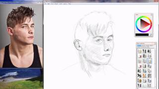 MyPaint Speed Drawing