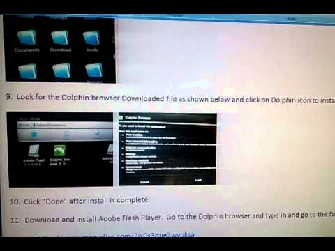 How to Install Adobe Flash on Kindle Fire HD