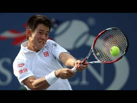 Kei Nishikori vs Jeremy Chardy 2014 Quater Final Highlights - ATP Rakuten Japan Open