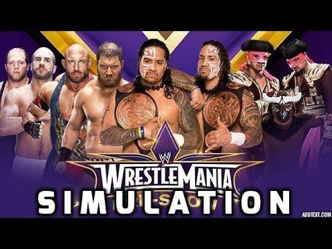 (wwe 2k14) Wrestlemania Xxx - Tag Team Championship Turmoil video