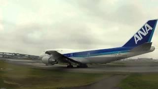 ANA ジャンボ機 ボーイング747 ラストフライト 福岡空港 感動の交信 管制