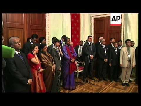 Bangladeshi PM Sheikh Hasina meets Russian President Putin, statements