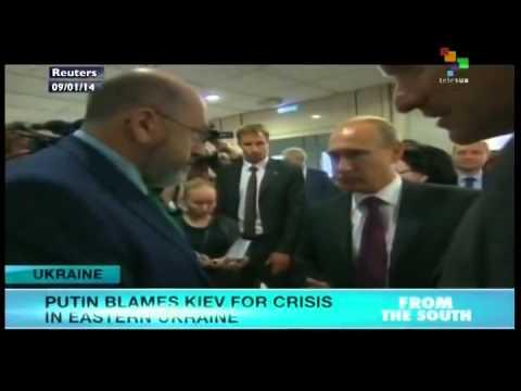 Putin blames Kiev for crisis