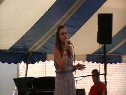 Ashley WINS the Strawberry Festival Talent Show!  FIRST PLACE!