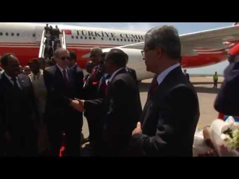 Cumhurbaşkanı Erdoğan Somali'de | 25.01.2015