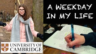 TYPICAL WEEKDAY AT CAMBRIDGE UNI