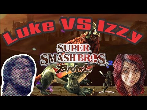 Super Smash Bros. Brawl [fight Luke Vs. Izzy]