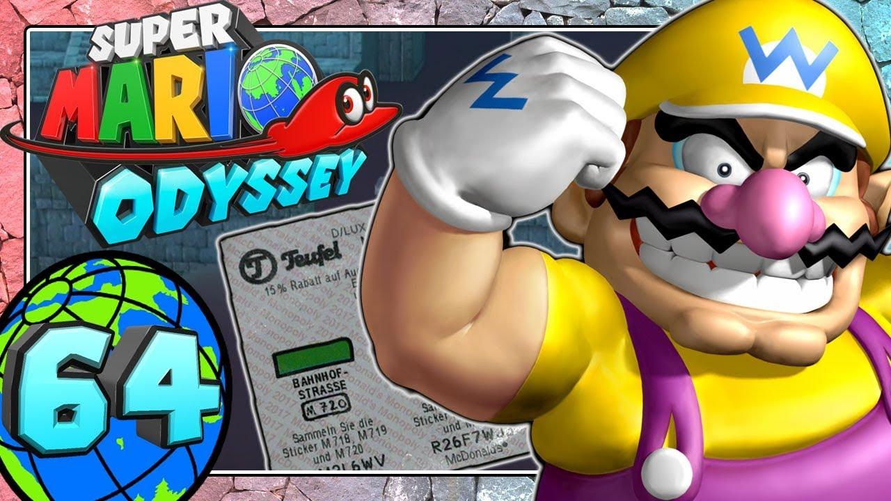 Super Mario Odyssey Part 64 Das Wüsten Koopa Rennen Und Der Mc