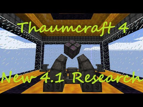 A Guide To Thaumcraft 4.1 - New Research Tips and Tricks!