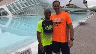 Senna y Luengo preparan el Maratón