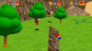 Let's Play Super Mario 64 Star Road (Multijoueur) Partie 17 : Un facecam dans le désert