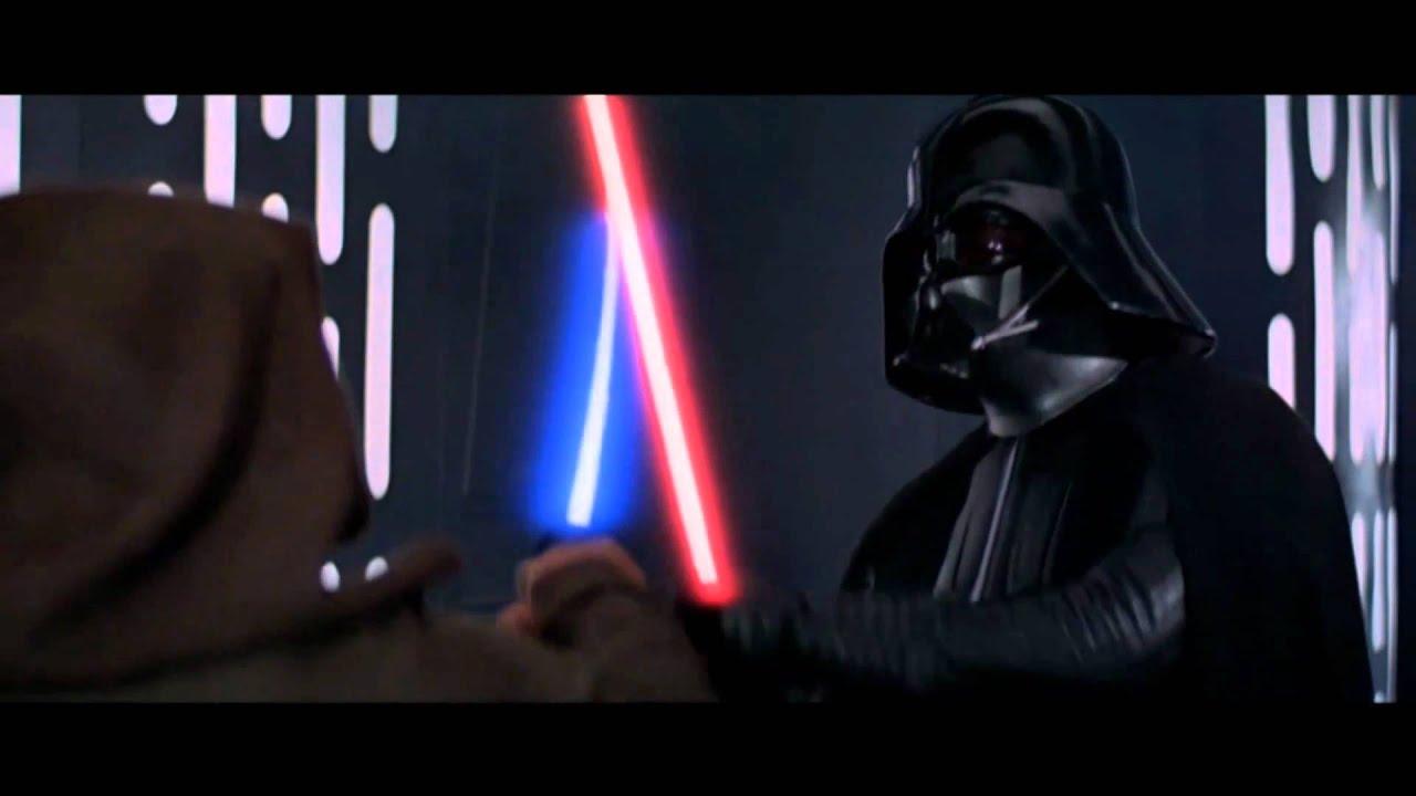 Obi Wan Kenobi Vs Darth Vader Re Edited Amp Rematch Version