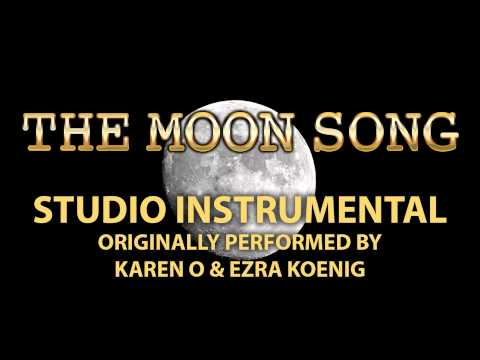 The Moon Song (Cover Instrumental) [In the Style of Karen O & Ezra Koenig]