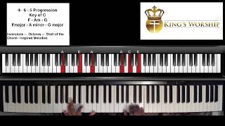 One Of My Favorite Chord Progressions For Worship Piano