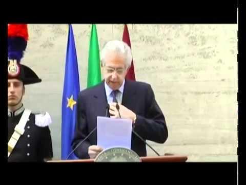 Monti – 25 aprile, tutti insieme contro la crisi come ai tempi della Liberazione (25.04.12)