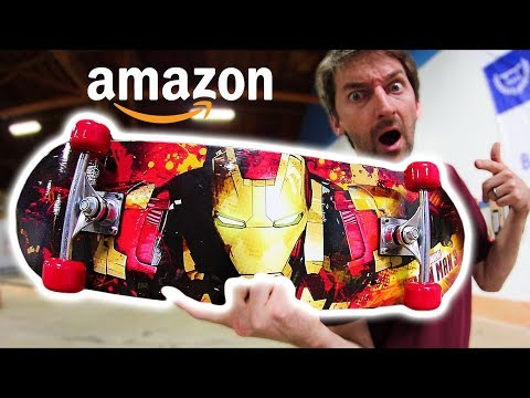 THE CHEAPEST SKATEBOARD ON AMAZON! | CHEAP SKATES EP 11