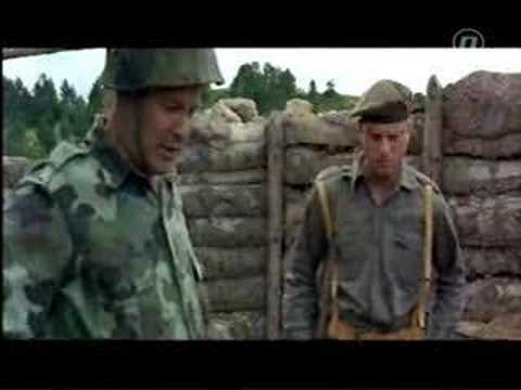 War in Bosnia (No Man's Land - scene)