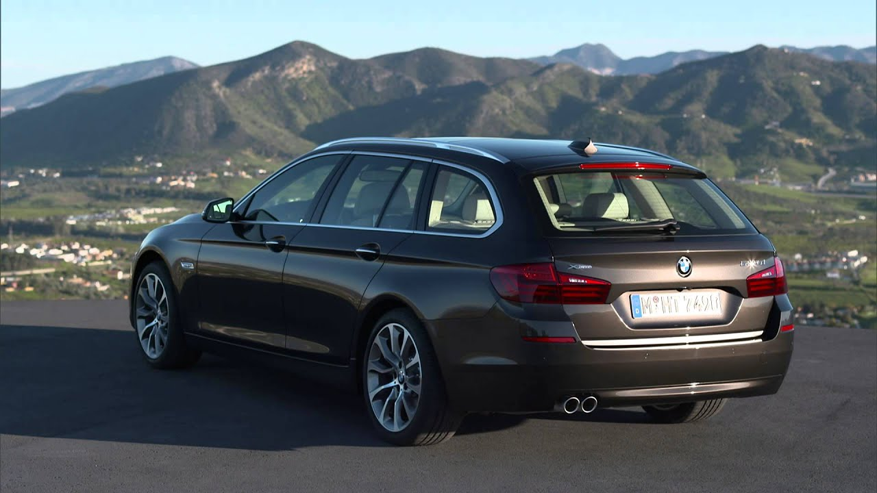 Bmw 530d Touring Exterior Design Youtube