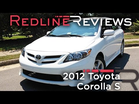 2012 Toyota Corolla S Review. Walkaround. Exhaust. & Test Drive