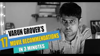 Varun Grover's 17 Film Recommendations in 3 minutes | Chalchitra Quickies