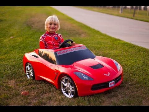 Unboxing The New Power Wheels 2014 Corvette Stingray!