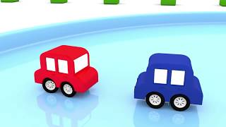 CHRISTMAS CARS! 🎄 Cartoon Cars Race - Car Cartoons for kids - Videos for Kids
