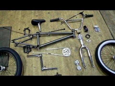 BMX - Как я собирал свой новый байк