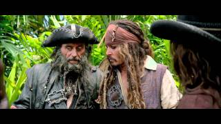 Pirates of the Caribbean: On Stranger Tides - Cliff Jump Extended Clip - Pirates of the Caribbean: On Stranger Tides