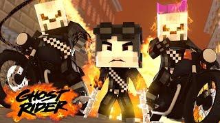 Minecraft: Who's Your Family? - A FAMILÍA DOS MOTOQUEIROS FANTASMAS ( Ghost Riders )