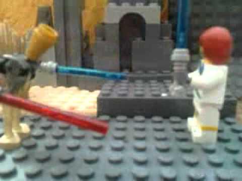 Lego Star Wars Оби Ван против Генерала Гривуса