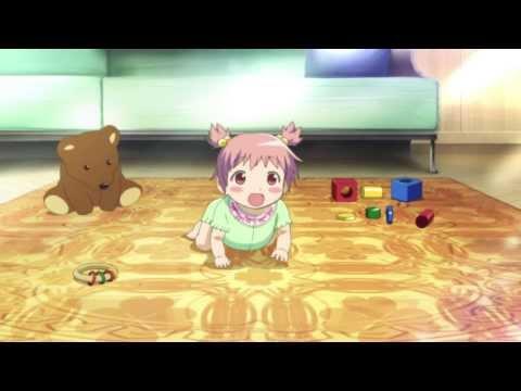 Puella Magi Madoka Magica Movie - Young Madoka (OP Scene 2)