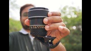 Prosumer SANKYO Macro Phone Lens Indepth Review