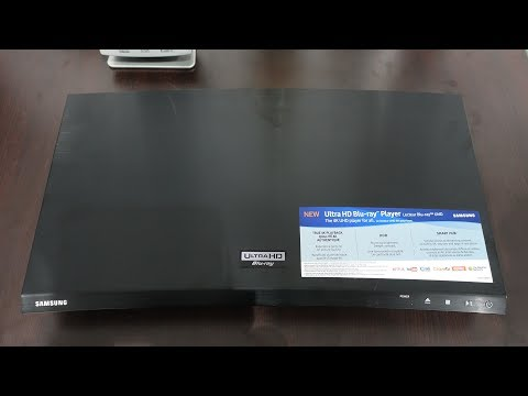 Samsung UBD-M7500 4K Bluray Media Player Review