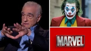 Martin Scorsese Talks JOKER Movie & Dismantles Marvel Some More
