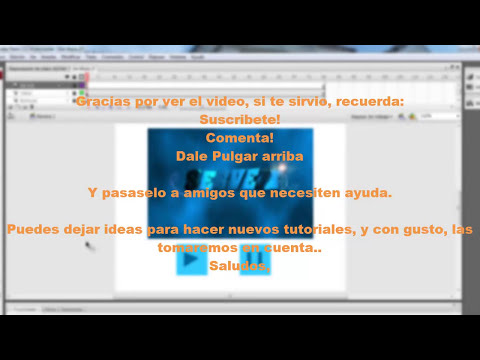 Crea un reproductor de video en flash [AS3] [HD]