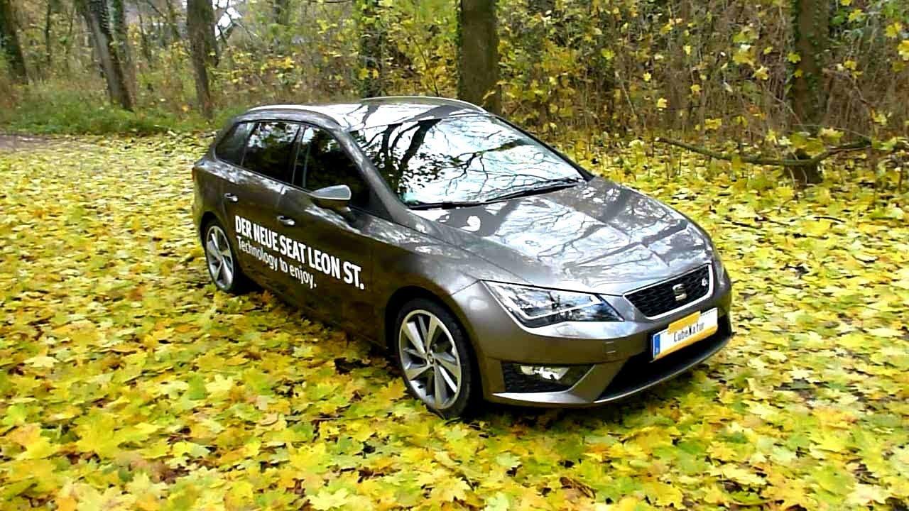 2013 seat leon st 1 4 tsi fr exterieur in detail youtube. Black Bedroom Furniture Sets. Home Design Ideas