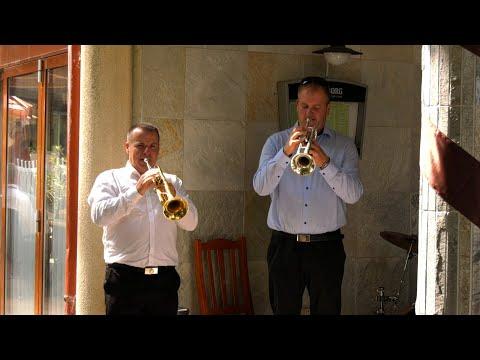 Timi és Marci esküvői videó, Vendégvárás, Újhartyán Faluközpont, Trombitás Étterem
