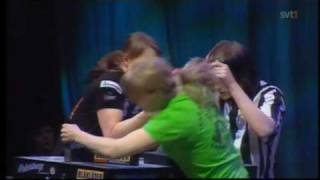 Strong armwrestling girls 3!