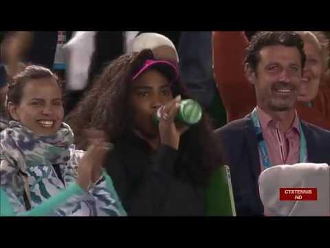 Venus Williams VS Agnieszka Radwanska Highlight 2015 Australian Open R4