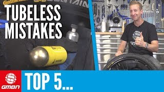 Top 5 Mistakes You'll Make When Going Tubeless | Mountain Bike Maintenance