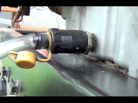 Wahnsinn! Rasentraktor Ölwechsel Mit Vollsynthetischem Öl Selbst Gemacht!
