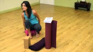 How to Build a Yoga Slant Board : Yoga Fashion & Supplies