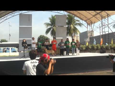 Enchong Go...  panata Sa Kalikasan Earth Day 2012 video