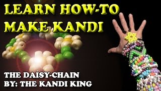 "LEARN HOW TO MAKE KANDI - ""The Daisy-Chain"" #KANDI #PLURLIFE 💗"