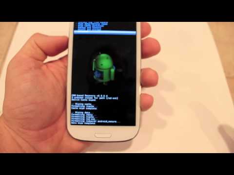 How to Install Cyanogenmod 10 on Samsung Galaxy S3