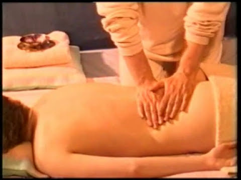 How to massage the back, massage therapy and techniques