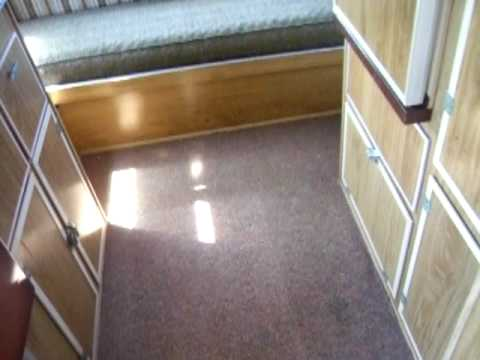 1976 SCOTTY SERRO SPORTSMAN CAMPER TRAVEL TRAILER RV