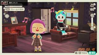 Photo Mode App Features and Filters Animal Crossing New Horizons