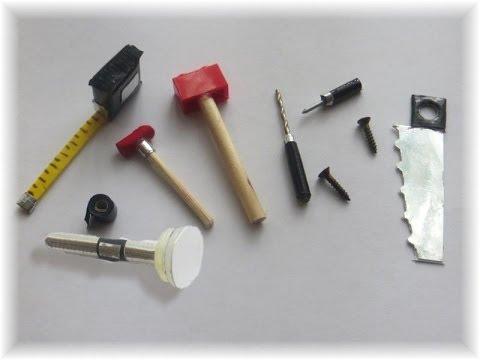 C mo hacer herramientas para mu ecas y mu ecos how to - Casas para belenes hechas a mano ...